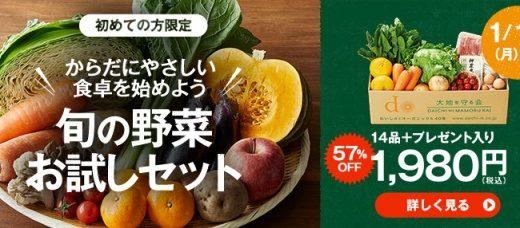 大地を守る会の評判・口コミ|野菜のサブスク